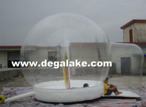 Customized Printing Inflatable Human Snow Globe for Advertising pictures & photos