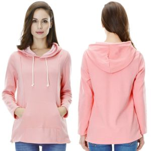 Fashion Comfortable Women Maternity Hoody pictures & photos