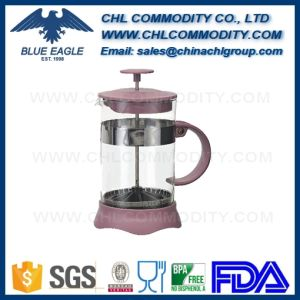 High Borosilicate Glass Stainless Steel French Press Coffee Pot pictures & photos