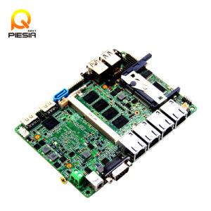 4 LAN Gigabyte Itx Nano Motherboard Built in Intel Quad-Core Celeron J1900 Processor pictures & photos