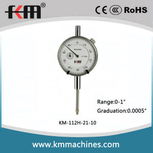 High Accuracy 0-1′′ Dial Indicator with 0.0005′′ Graduation pictures & photos