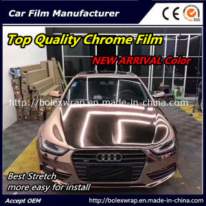 New Color~Top Quality Glossy Chrome Smart Car Vinyl Wrap Vinyl Film pictures & photos