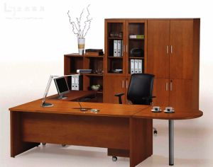 Modern MFC Laminated MDF Wooden Office Table (NS-NW176) pictures & photos