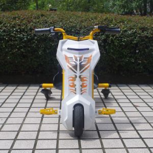 Factory Cheap Kid′s Electric Scooter Drift Trike pictures & photos