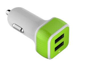 Hot Selling Manufacturers Wholesale Promotional Dual USB Mobile Phone Battery Car Charger pictures & photos