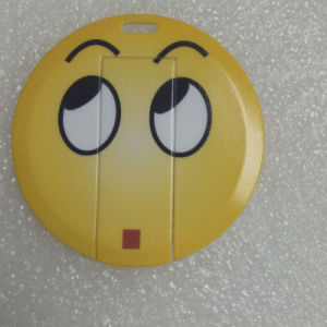 Round Shape Card USB Flash Drive pictures & photos