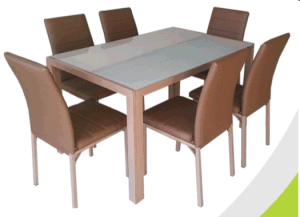 Glass Dining Table Sets pictures & photos