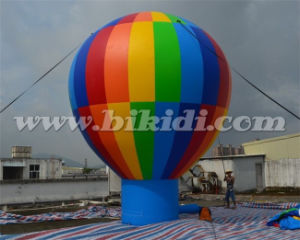 20 FT Inflatable Rainbow Ground Balloon for Advertisement K2101 pictures & photos