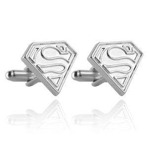 New Marvel Superman S Signal Cufflinks Metal Enamel DC Comics Mens Cuff Link pictures & photos