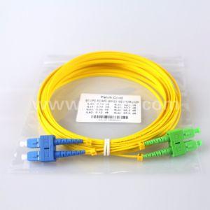 Patch Cord Sc-Sc Sx Dx a/Upc Fiber Optic Patch Cord pictures & photos