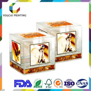 Quality Warranty High End Plastic Pet Acetate Packaging Box for Cosmetics pictures & photos