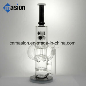 Nice Design Recycler Glass Smoking Water Pipe (AY026) pictures & photos