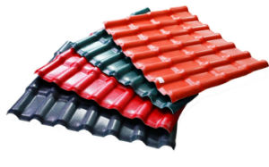 Synthetic Resin PVC Roof Tile Royal Style pictures & photos