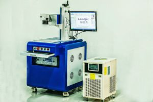 Leadjet 20W 30W Fiber Laser Marking Machine for PVC Pipe pictures & photos