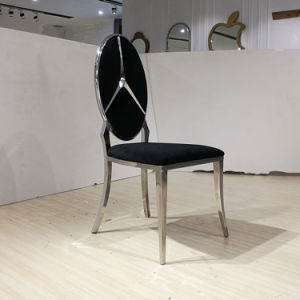 Most Popular New Section Stainless Steel Dining Chair pictures & photos