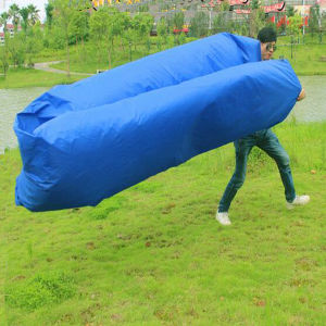Outdoor Lazy Sofa Inflatable Bed Air Outlet Beach Sleeping Bag pictures & photos