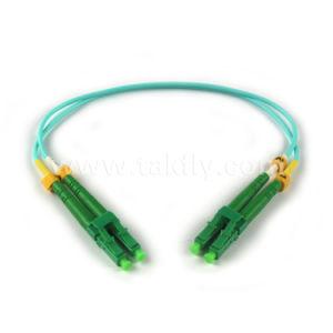 LC/LC 3m 62.5/125um mm Duplex 3.0mm Fiber Optic Patch Cord pictures & photos