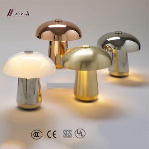 Modern Mushroom Design Metal Bedside Table Lamp pictures & photos