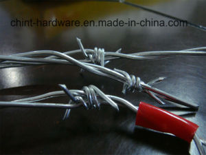 Hot Sale Galvanized Barbed Wire Factory Supplier pictures & photos