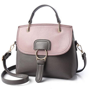 2017 New Collection PU Leather Casual Color Contrast Ladies Handbags Totes Bags Sy8432 pictures & photos