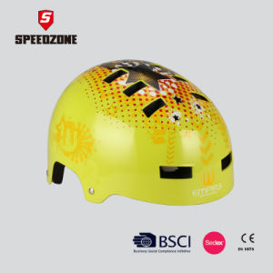 Speedzone ABS Strong Protection Skate Helmet pictures & photos