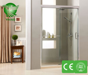 Stainless Steel Frame Sliding Shower Glass Door Shower Enclosure China Manufacture