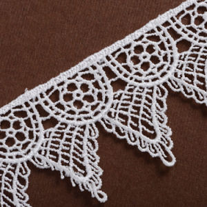 African Embroidery Chemical Lace Trim pictures & photos
