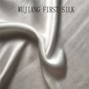 19mm Mulbery Silk Fabric Satin Fabric Solid Dyed pictures & photos