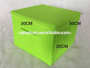 Cheap Multi-Function Collapsible Non-Woven Storage Box with Handle