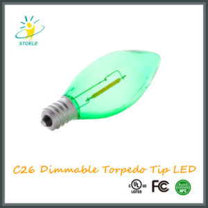 Stoele C26 Torpedo Tip LED Bulb Tailed String Light pictures & photos