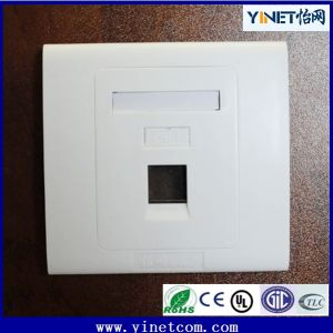 CAT6 Double RJ45 Wall Face Plate/Faceplate Network LAN pictures & photos