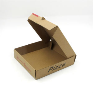 Offet Printing Custom Pizza Box Paper Packaging Box Printing pictures & photos