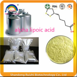 High Quality Cosmetic Grade CAS 62-46-4 99.5% Alpha Lipoic Acid Powder, Alpha Lipoic Acid pictures & photos