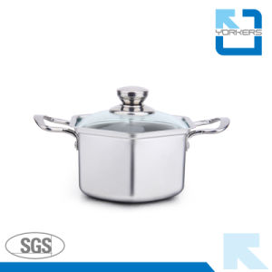 17cm 304 Stainless Steel Mini Korea Soup Pot pictures & photos