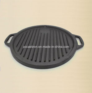 Preseasoned Cast Iron Griddle Pan Supplier From China. pictures & photos