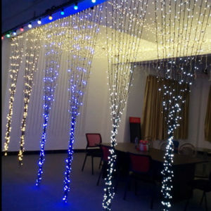 High Quality Customzied LED Curtain Lights for Wedding Decoration pictures & photos