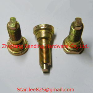 Yellow Zinc Plated Carbon Steel Non Standard Bolt pictures & photos