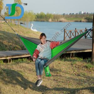 Outdoor Portable Nylon Tree Hanging Hammock for Travel pictures & photos