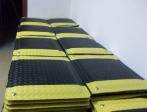 Black and Yellow Anti-Fatigue Mat for Industrial Cleanroom pictures & photos