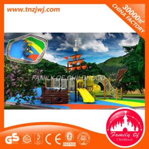 Amusement Park Plastic Slide Children Outdoor Playground Set pictures & photos
