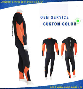 Men 3mm Neoprene Super Stretch Fitness Waterproof Swimming Surfingsuit pictures & photos