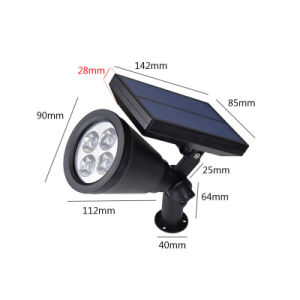 2W Waterproof LED Solar Lamp pictures & photos
