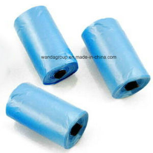 Good Quality Flat Plastic Garbage Bag on Roll pictures & photos