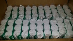 100% Absorbent Cotton Wool Chlorine-Free Bleached Dental Cotton Roll (8 X 38mm) pictures & photos