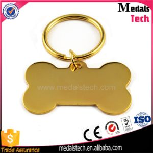 Wholesale Metal Hard Enamel Round BMW Keychain with Ring pictures & photos