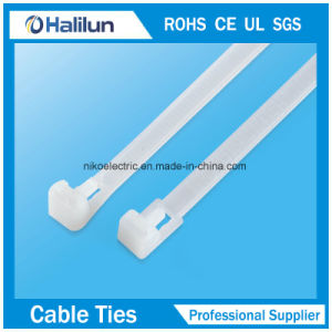 Not Easy to Ago Nylon Cable Ties Push Mount Zip Ties pictures & photos