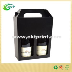 Custom Corrugated Wine Paper Boxes with Film Lamination (CKT-PB-005) pictures & photos