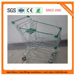 Shopping Trolley Station Trolley Port Hotel Airport Hand Carts 9167 pictures & photos