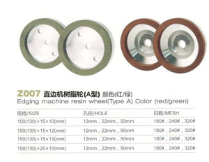 Z007 Edging Machine Resin Wheel Color Red Green pictures & photos