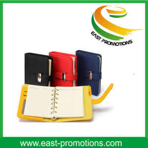 Professional Custom PU Leather Notebook A7 pictures & photos